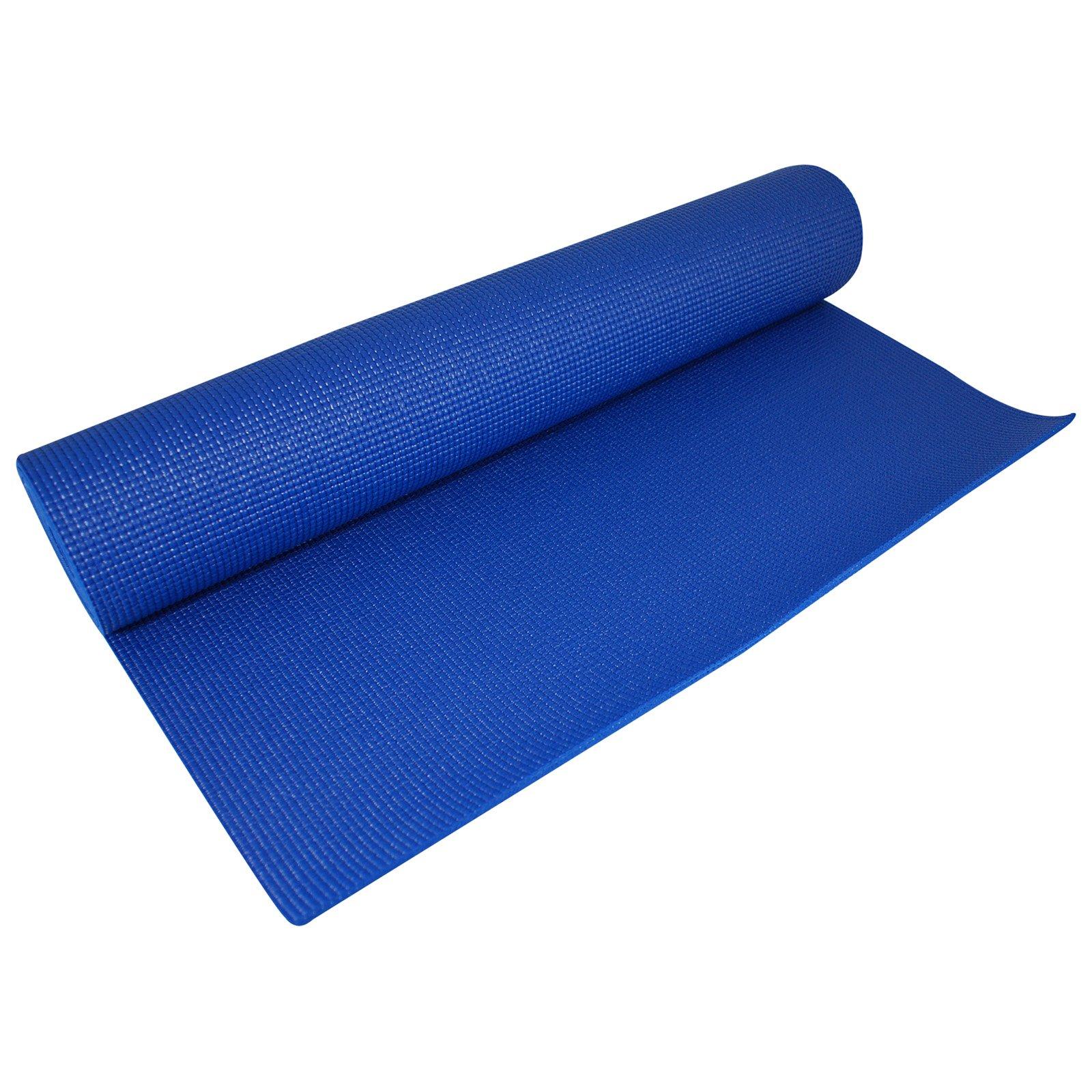 """Light Weight Blue Yoga Mats (68""""x24""""x1/8"""")"""